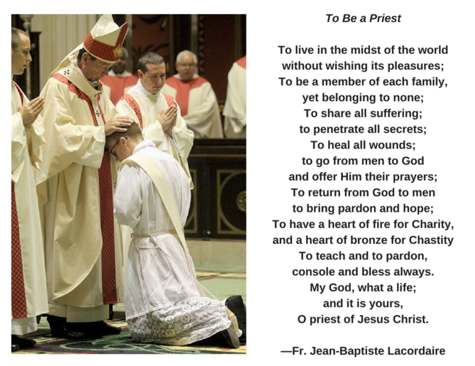 To Be a Priest - LaCordaire